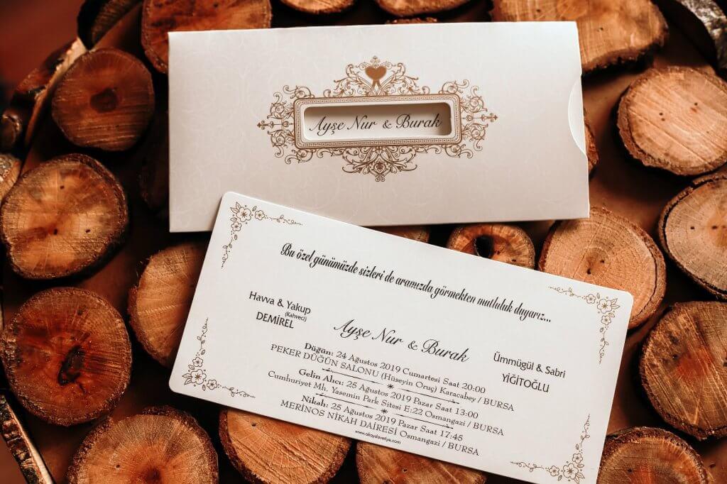 Balıkesir-Gönen-Düğün Davetiyesi-Davetiye